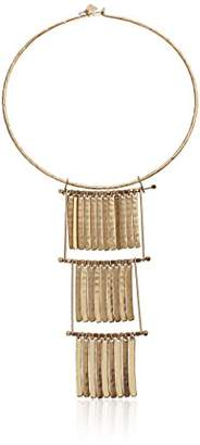 Robert Lee Morris The Bigger Stone Round Wire Shakey Pendant Necklace