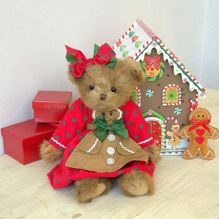 Little Ella James Gingerbread Teddy Bear