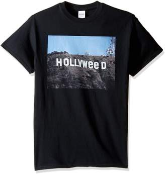 Freeze Men's Big and Tall Hollyweed Sign T-Shirt