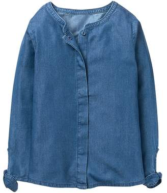 Crazy 8 Chambray Top