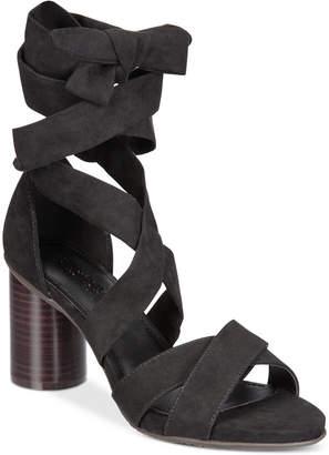 Kenneth Cole Reaction Women's Rita Lita Lace-Up Sandals Women's Shoes $69 thestylecure.com
