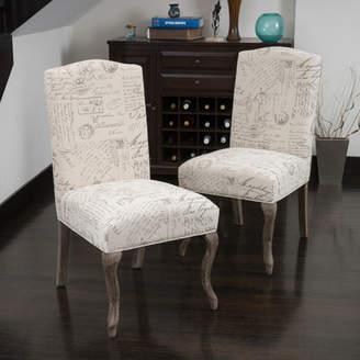 Lark Manor LaSalle Upholstered Parsons Chair