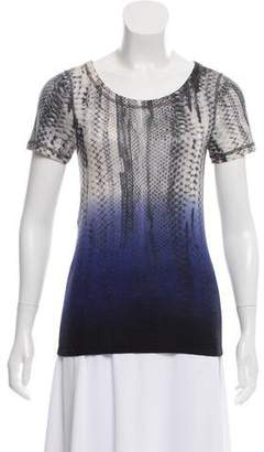 Reed Krakoff Gradient Crew Neck Top