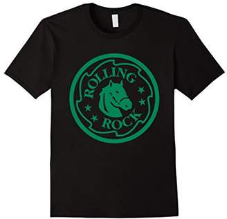 Rolling Rock Extra Pale Horsehead Ring Logo T-Shirt