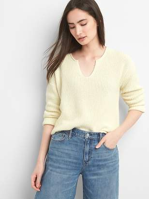 Gap Shaker Stitch Pullover Sweater