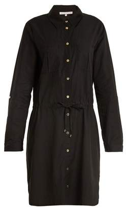 Heidi Klein Core Drawstring Waist Woven Shirtdress - Womens - Black