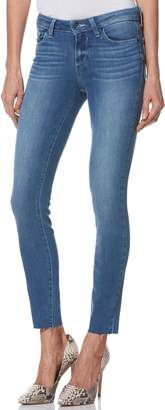 Paige Transcend Vintage - Verdugo Raw Hem Ankle Skinny Jeans