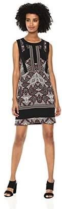 BCBGMAXAZRIA Azria Women's Color-Blocked Dress