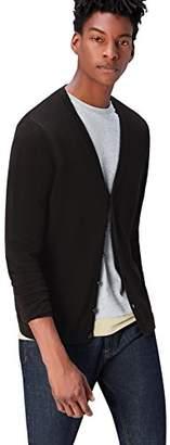 Find Men's Standard Cotton Button Down Cardigan