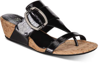 21637156fdc2 Impo Geena Hidden Thong Wedge Sandals Women Shoes