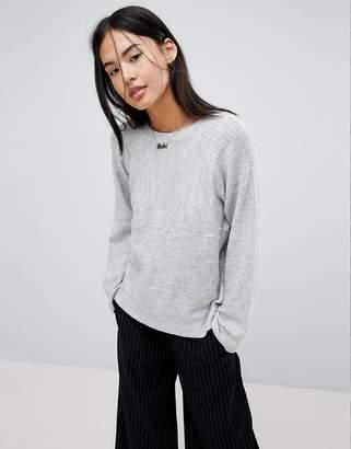 Noisy May Ribbed Sweater
