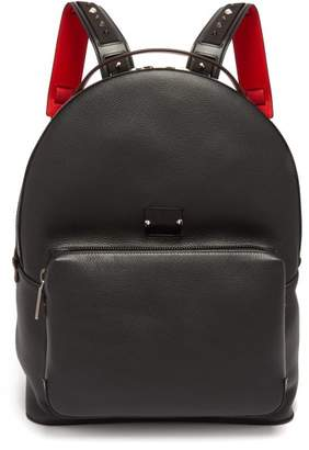 Christian Louboutin Backloubi Spike Embellished Backpack - Mens - Black
