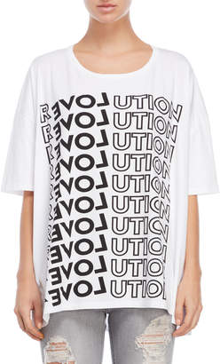 Each X Other Oversize Revolution Graphic Tee