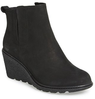 Women's Timberland 'Amston' Chelsea Wedge Boot $139.95 thestylecure.com