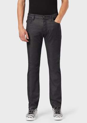 Emporio Armani J45 Slim Fit Stretch Cotton Denim Jeans