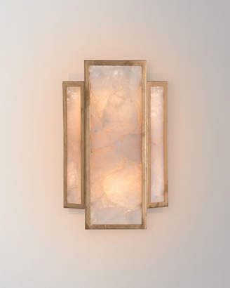 John-Richard Collection Calcite 2-Light Wall Sconce