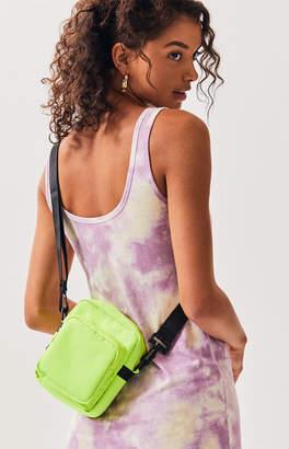 La Hearts Neon Canvas Crossbody Bag