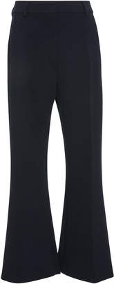 Sportmax Edison Crepe Wide-Leg Pants