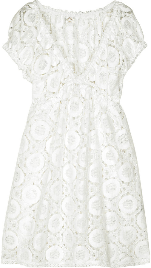 Milly Lucca crochet lace dress