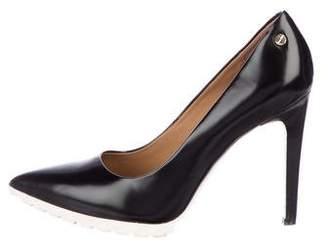 Calvin Klein Brigitte Leather Pumps