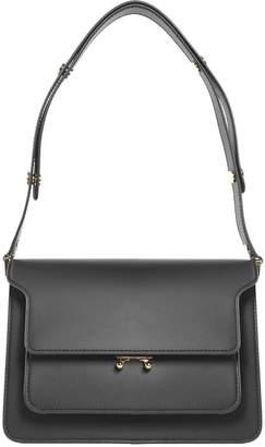Marni Trunk Medium Smooth-leather Shoulder Bag