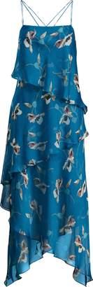 Ralph Lauren Watercolor Georgette Dress