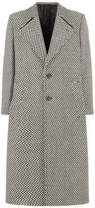 Givenchy Chequered Wool Coat