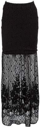 Grace Loves Lace Black Polyester Skirts