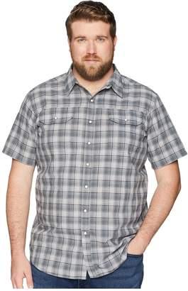 Columbia Big and Tall Leadville Ridge Yarn-Dye Short Sleeve Shirt Men's Short Sleeve Button Up