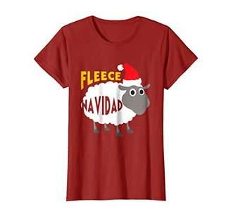 Fleece Navidad Funny Christmas Sheep T-Shirt