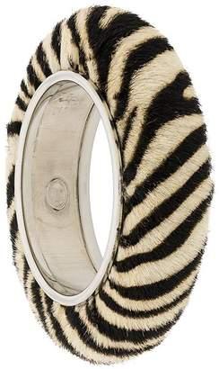Christian Dior Pre-Owned zebra bangle