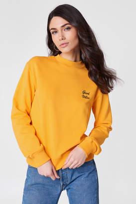 NA-KD Na Kd Good Vibes Sweatshirt
