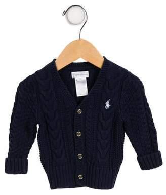 Ralph Lauren Boys' Knit Button-Up Cardigan