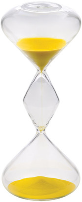 Hourglass Bitossi Home Sand Timer - 30 Minutes - Yellow