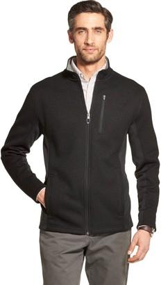 Izod Men's Sportswear Shaker Midweight Fleece Jacket