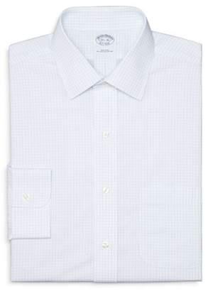 Brooks Brothers Box Check Non-Iron Dress Shirt - Regent Fit