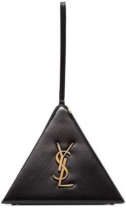 Saint Laurent Black Pyramid Box Bag