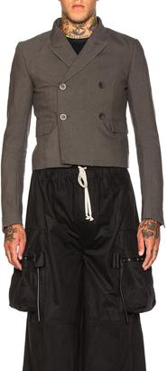 Rick Owens Glitter Jacket $2,153 thestylecure.com