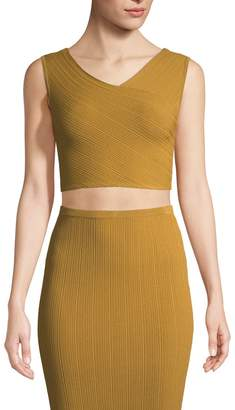 Ronny Kobo Women's Karie Sleeveless Crop Top