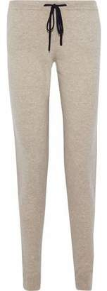 Chinti and Parker Cropped Wool And Cashmere-Blend Track Pants