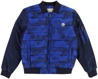 Timberland Boys Printed Padded Jacket