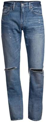 Levi's 511 Slim Ripped Jeans