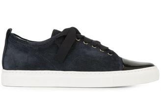 Lanvin toe cap sneakers $625 thestylecure.com