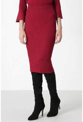 Pinky&Dianne (ピンキー エンド ダイアン) - ピンキーアンドダイアン ◆ラッフルスリーブニットアップスカート