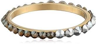 Chamak by Priya Kakkar 18k Plated Swarovski Crystals Stackable Ring