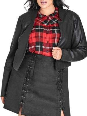 City Chic Plus Sleek Bolero Jacket