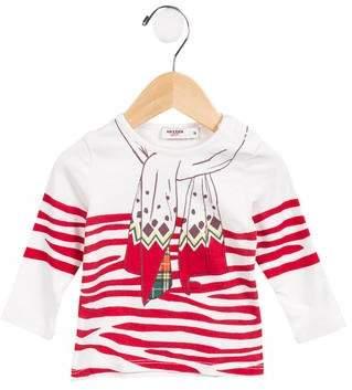 Jean Paul Gaultier Girls' Printed Long Sleeve Top