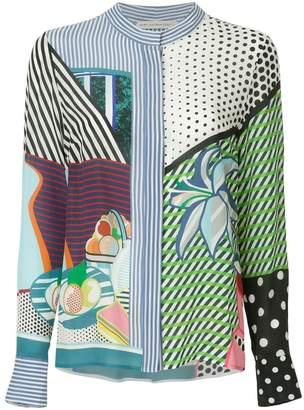 Mary Katrantzou pop art blouse