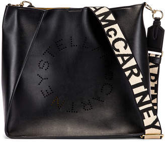 Stella McCartney Medium Crossbody Bag in Black | FWRD