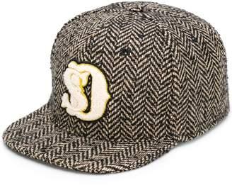 SuperDuper Hats Super Duper Hats logo tweed cap